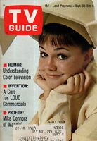 1967 TV Guide September 30 - Sally Field Flying Nun; Mike Connors; Ted Bessell