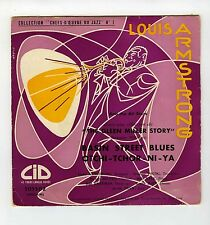 45 RPM EP LOUIS ARMSTRONG AND THE ALL STARS  BASIN STREET BLUES