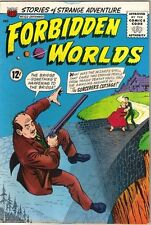 Forbidden Worlds Comic Book #122, ACG 1964 VERY FINE-