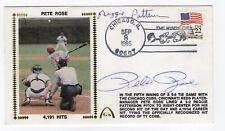 Baseball Pete Rose, Reggie Patterson Autographed '85 Cover - 4191 Hits Gateway