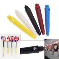 12Pcs Plastic Dart Nylon Screw Shafts Short Darts Stems Replacement 4cm 2BA Rod