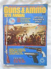 GUNS & AMMO 1976 ANNUAL--PETERSEN'S PUBLISHING