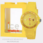 Authentic Ice Summer Neon Yellow Resin Strap SMALL Watch SS.NYW.S.S.12