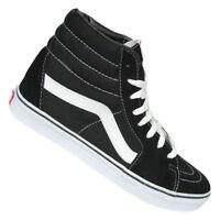 Vans Sk8 Hi baskets pour hommes Chaussures de Skate Cuir Véritable