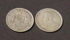 1916 Australian shilling, clear Advance Australia, Fine.