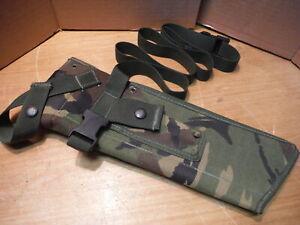 British Army PLCE Sheath Frog Machete Jungle Knife DPM Webbing  IRR  (n1)