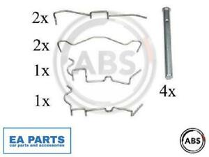 Accessory Kit, disc brake pads for DAIHATSU A.B.S. 1650Q