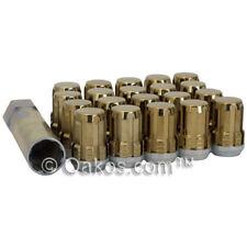 McGard Spline Drive Lugs (Gold, 12x1.25mm, Set/20) For Subaru