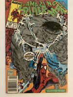 Amazing Spider-Man #328 NEWSSTAND Variant! VF/NM! McFarlane Art! Hulk!!