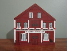 Vermont Country Store New England Christmas Series 1989 Cat'S Meow Village Wood