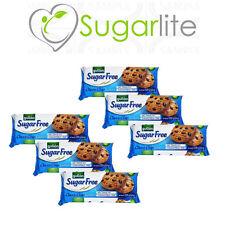 Gullon Sugar Free Choc Chip Biscuits Cookies 125g X 6 Packs