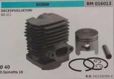 54115003004 CYLINDRE PISTON COMPLET DÉBROUSSAILLEUSE ROBIN NB 411 Ø 40