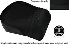BLACK AUTOMOTIVE VINYL CUSTOM FITS SUZUKI INTRUDER VL 1500 98-04 REAR SEAT COVER