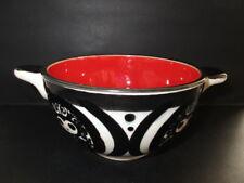 SMF SCHRAMBERG Keramik MON AMOUR handbemalte Majolika Suppen-Schale