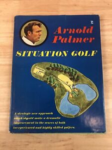 Arnold Palmer Situation Golf 1971 First Edition Hardcover With Paper Jacket