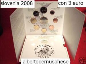 2008 SLOVENIA 9 monet 6,88 EURO slovenie slovenja Slowenien eslovenia Словения 3
