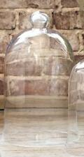 "TALL Glass Cloche Display Dome~  BELL JAR~French Country~Garden 15"" x 9"""