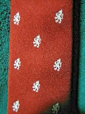 "Vintage Bespoke/Custom Scottish Lion Rampant Dark Copper Pride of England 58""x3"""
