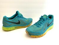 Nike Air Max 2014 Running Shoes 621077-301 Turbo Green/Black Men's Size 9
