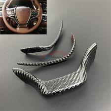 3pcs For Lexus ES200 ES250 ES300h ES350 2018-2020 Car Steering Wheel Frame Trim