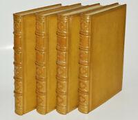 LES FACETIEUSES NUITS DE STRAPAROLE Jouaust 1882 4 vol num. 3 états des gravures