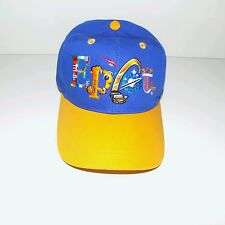 Walt Disney Epcot Center World Pavilion Flag Logo Baseball Cap Hat Youth Size