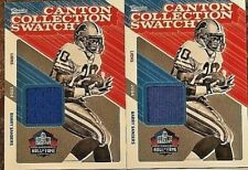 BARRY SANDERS 2018 PANINI CLASSICS CANTON COLLECTION SWATCH GAME USED JERSEY