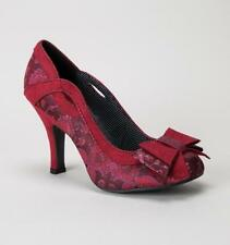 Floral Slim Court Heels for Women