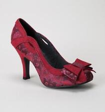 Ruby Shoo Floral Slim Heels for Women