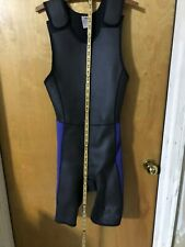Mens Medium Sleveless Shorty Wetsuit for Waterskiing, Tubing or Kneeboarding