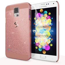 Samsung Galaxy S5 / S5 Neo Handy Hülle von NALIA, Glitzer Hard Case Cover Bumper