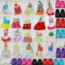 20 pcs 10  P Clothes + 10   P Shoes  for Kelly Dolls Dress  doll  girls toys