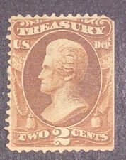 Travelstamps: 1873 US Stamps Scott#  O73 Treasury Jackson Mint NG