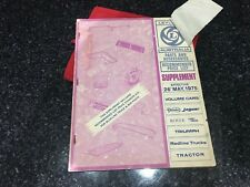 Leyland Australia P76 & Other Makes Parts/Accessories Trade Price List 1975 Vgc
