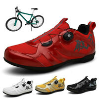 Road Cycling Shoes MTB Men Sneakers Bike Triathlon Racing Athletic Trainers Red