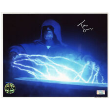 Tim Curry Autographed Star Wars The Clone Wars Darth Sidious 8x10 Photo