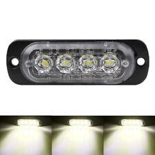 12W 12/24V Volt LED Car Truck Light Bar Flash Strobe Warning Lights Lamp White