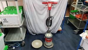 Victor Sprite 300 Compact Corded Floor Buffer Polisher with Drive Disc and Pad
