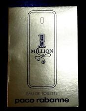 LOT OF 3 PCS MILLION BY PACO RABANNE EDT VAPORISATEUR SPRAY SAMPLES 1.5ml/0.05oz