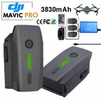 11.4V 3830mAh Intelligent Flight Lipo Battery For DJI Mavic Pro / Platinum Drone