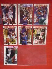 FLEER ULTRA 1994-95 REBOUND KING LOT OF 7 CARDS VGC NBA COLEMAN OLAJUWON OAKLEY