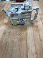 Mini Kitchen Novelty Tea Pot Decoration Only