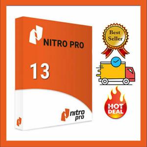 Nitro Pro 13 ✅ PDF Enterprise 2021 ✅ Editor