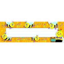 Desk Toppers Busy Bees 36/Pk 2X9