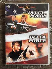 Delta Force 1 and 2 (DVD, 2008) Chuck Norris & Lee Marvin Martial Arts Classics