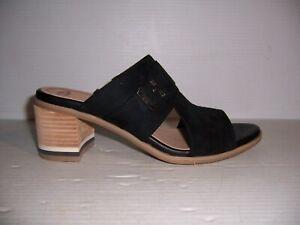Dr. Scholl's Spellbound  Women's Black  Peep Toe Sandals Heels Sizes 9 & 11 NEW!