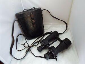 Vintage Cased Binoculars - Possible Military Prototype?