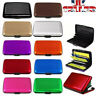 RFID Metal Wallets Small Money Clip Cards Holder Key Purse Ring Slim Case Pocket