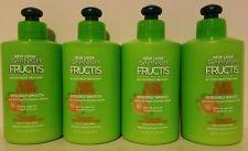 4 Garnier Fructis Sleek & Shine Intensely Smooth Leave-In Cream - 10.2 oz each