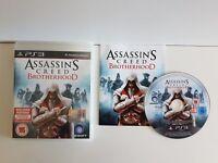 PS3 Assassin's Creed BROTHERHOOD - PLAYSTATION 3 PS3